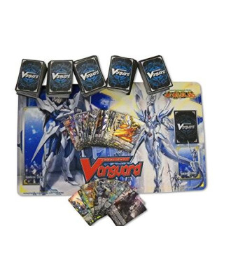 500 Cardfight Vanguard Cards with Playmat and Rares