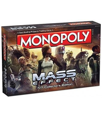 USAopoly Monopoly: Mass Effect N7 Collector's Edition Board Game