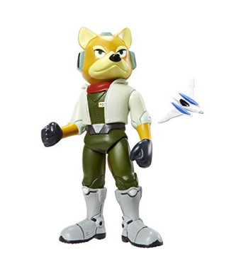 "World of Nintendo 4.25"" Fox McCloud Figure Wave 3"