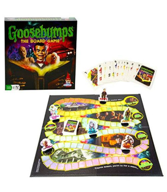 Outset Media Goosebumps Halloween Party Game - Board Game based on the Goosebumps Movie