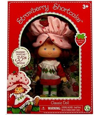 "The Bridge Strawberry Shortcake 35th Birthday Classic Doll 6"" NIP 2015"