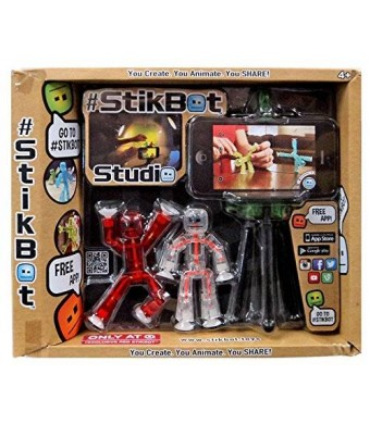 "Stikbot Stikbot Studio Exclusive 3"" [Exclusive Red Figure]"