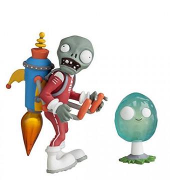 "Plants vs Zombies 3"" Future Jetpack Zombie with Infinut Action Figure"