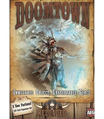 AEG Doomtown Reloaded Immovable Unstoppable Force Game