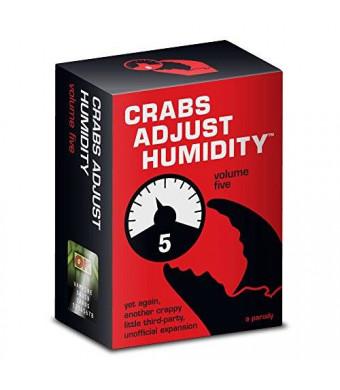 Vampire Squid Cards Crabs Adjust Humidity - Vol Five