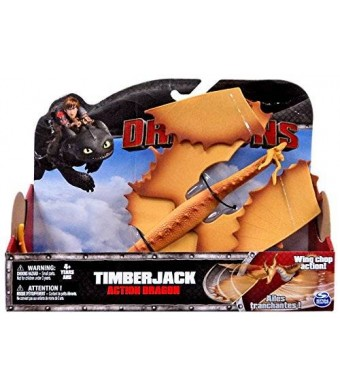Dreamworks Dragons Action Dragon Figure, Timberjack