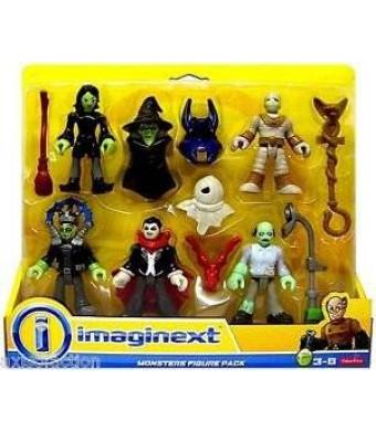 Imaginext Monster 5 Pack Figure Set