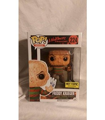 Funko Freddy Krueger Hot Topic Exclusive Nightmare on Elm Street