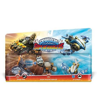 Activision Skylanders SuperChargers Triple Pack #1: Jet Stream, Shark Tank, Shark Shooter Terrafin - Amazon Exclusive