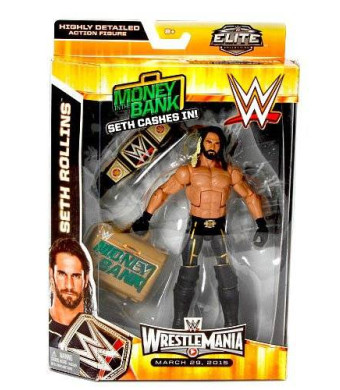WWE, Elite Collection Wrestlemania 31, Seth Rollins Action Figure