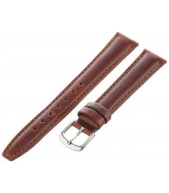 Hadley Roma Hadley-Roma Men's MSM881RAC-160 16-mm Honey Oil-Tan Leather Watch Strap