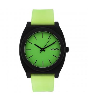 Nixon Time Teller P A119-110 Glo Green Analog Watch