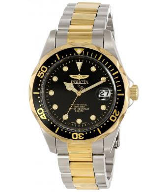 Invicta Men's 17049 Pro Diver Analog Display Japanese Quartz Two Tone Watch
