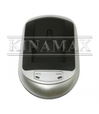 Kinamax LCH-DES-ENEL3 Charger Includes Car Adapter 100-240V for Nikon, FujiFilm Batteries