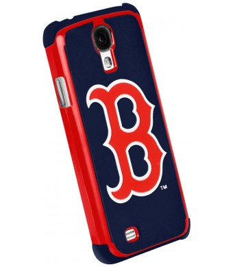 Forever Collectibles Boston Red Sox Rugged Dual Hybrid Samsung Galaxy S4 Case
