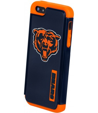Forever Collectibles Chicago Bears Rugged Dual Hybrid Apple iPhone 5 and 5S Case