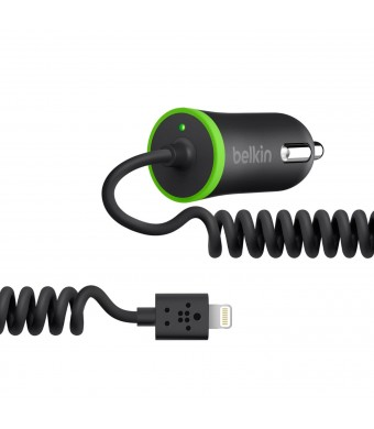 Belkin Car Charger for Smartphones - Retail Packaging - Black