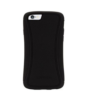 Griffin Technology Black Survivor Slim Protective Case for iPhone 6/6s 4.7