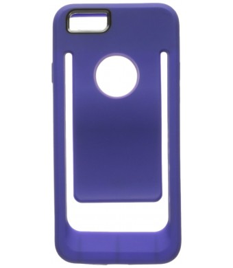 Reiko Belt clip Polymer case For iPhone 6 4.7inch, iPhone 6S 4.7inch - Retail Package - PURPLE