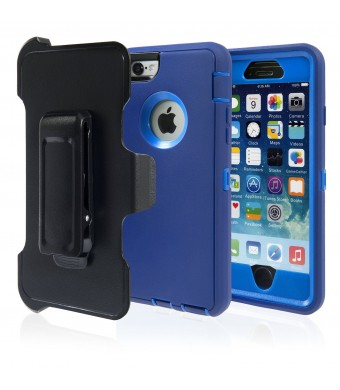 Successful Businesses LLC Iphone 6 Case, Iphone Protective Case with Belt Clip, Hard Armor Dual Layer Protector, Rugged but