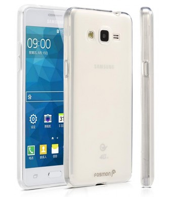 Fosmon Technology Samsung Galaxy Grand Prime Case, Fosmon [DURA FROST] Smooth Durable Flexible SLIM-Fit Cover for Sa
