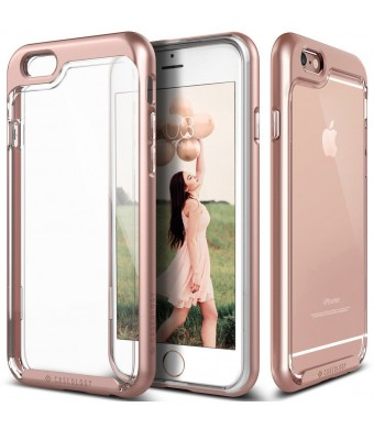 iPhone 6S Case, Caseology [Skyfall Series] Transparent Clear Enhanced Grip [Rose Gold] [Slim Cushion] for Apple iPhone 6S and iPhone 6