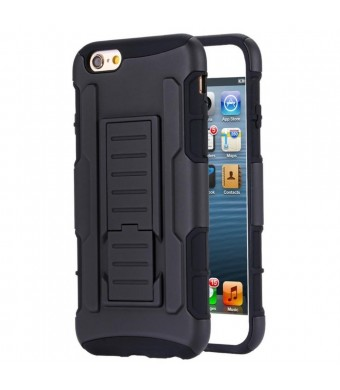 Vanguard Cases iPhone 6 Case (4.7''), Military Future Armor, Hybrid Defender, Dual Layer Bumper. Kickstand w/ BEL