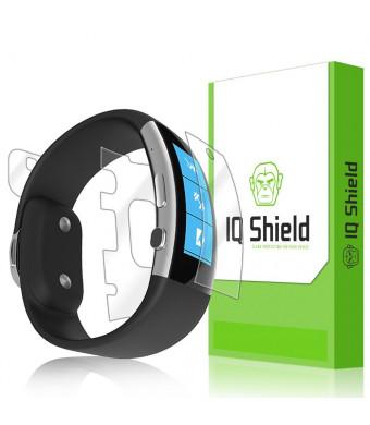 IQShield IQ Shield LiQuidSkin - Microsoft Band 2 Screen Protector (2015) + Full Body (Front and Back) and W