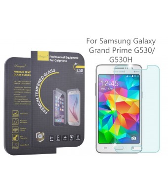 DanYee 2.5D Tempered Glass Screen Protector for Samsung Galaxy Grand Prime G530, G530H