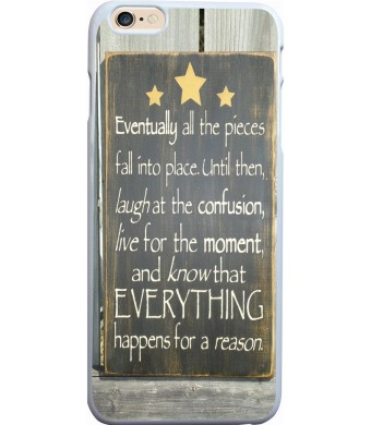 IWON Iphone 6 plus case quotes, Apple Iphone 6S plus case inspirational life quotes eventually all piec