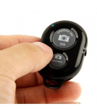 Solo Stick QuikPic Bluetooth Remote Shutter Release for Smartphones - iPhone Bluetooth Remote Camera Control