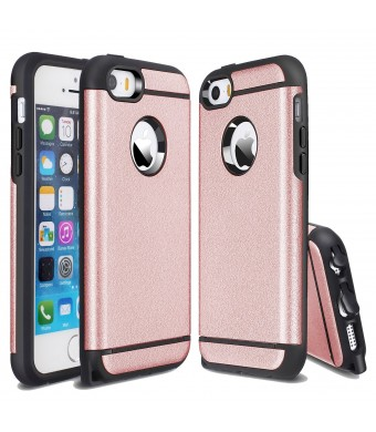 iPhone 5 Case, iPhone 5S Case, CHTech Fashion Dual Layer Heavy Duty Protection Scratch Proof Armor