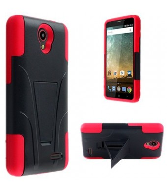 Storm-Buy ZTE Prestige Phone Case , ZTE Avid Plus Phone Case , [ Storm Buy ] Premium Hard and Soft Sturdy Du