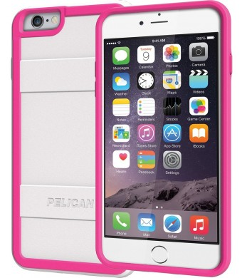 Pelican ProGear Protector Series for iPhone 6 Plus / 6s Plus - Retail Packaging (White / Pink)