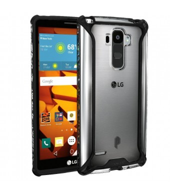 LG G Stylo Case, POETIC Affinity Series Premium Thin/No Bulk/ protection where its needed/Clear/Du