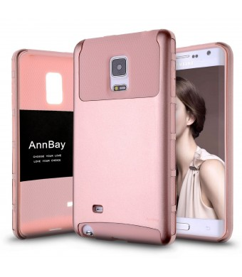 AnnBay(TM) Note Edge Case,AnnBay for Samsung Galaxy Note Edge 2in1 Series Heavy Duty armor Hard Cover Case Hy