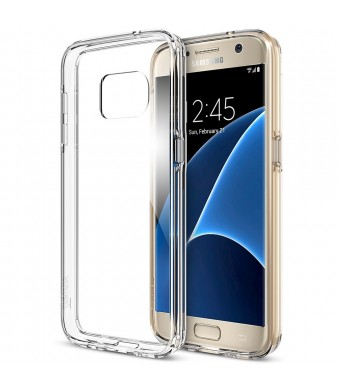 Galaxy S7 Case, Trianium [Clear Cushion] Premium Protective Case For Samsung Galaxy S7 *Scratch Resistant* Seamless integrated Shock-Absorbing Bumper and Ultra Slim Clear Back Hard Panel Cover