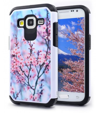Core Prime Case, NageBee - Heavy Duty Defender Dual Layer Protector Hybrid Phone Case for Samsung