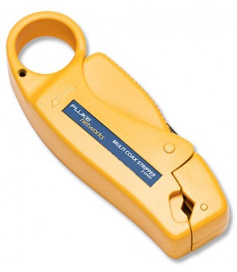 Fluke Networks 11231255 Multi-Level Coax Cable Stripper, 2 and 3 Level for RG58/59 Coaxial Cable