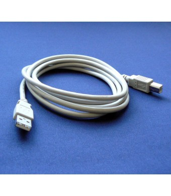 Bargains Depot Epson Perfection 4490 Photo Scanner Compatible USB 2.0 Cable Cord for PC, Notebook, Macbook - 6 fe