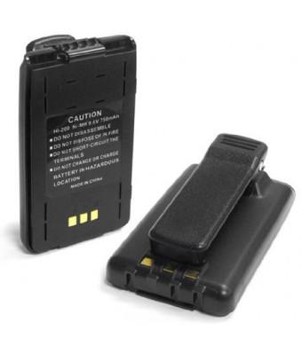 ExpertPower 9.6v 750mAh NiMh Radio Battery for Icom BP-200 BP-200H BP-200L BP-200M IC-A23 IC-A5 IC-T8 IC-T8A IC-T8E IC-T8H IC-T8HP IC-T81 IC-T81A IC-T81E IC-T81H IC-T81HP