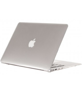 """Kuzy - AIR 13-inch CLEAR Crystal Hard Case for Apple MacBook Air 13.3"""" Models: A1369 and A1466 SeeThru Cover Shell - CLEAR CRYSTAL"""