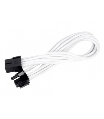 SilverStone Technology Silverstone Tek Sleeved Extension Power Supply Cable with 1 x 8-Pin to PCI-E 8-Pin Connector (PP07