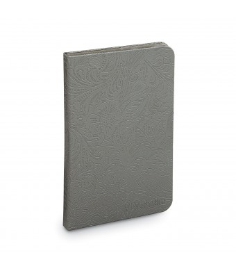 Verbatim Folio Case with LED Light for Kindle 4 and 5 (only) , Slate Silver 98079