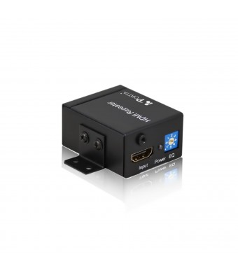 Portta PETRT HDMI Equalizer Extender Repeater Extend Up To 114-Feet 1080p