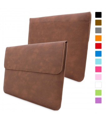Snugg Macbook Air and Pro 13 Inch Case - Leather Sleeve Case with Lifetime Guarantee (Distressed B