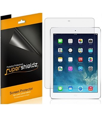 [3-Pack] Supershieldz- Anti-Glare and Anti-Fingerprint Matte Screen Protector For Apple iPad Air 2 and iPad Air + Lifetime Replacements Warranty- Retail Packaging