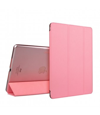 iPad Air Case, iPad Air Case Pink, ESR Slim Fit Leather Smart Case Cover with Trifold Stand and Magnetic Auto Wake and Sleep Function for iPad Air / iPad 5th Generation (Sweet Pink)