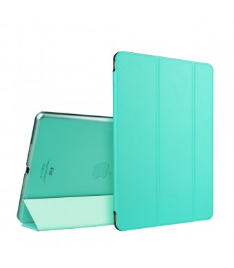 iPad Air Case, ESR Yippee Color Series iPad Air Case iPad 5 Case Slim Lightweight Smart Case Cover with multi-function as Keyboard Stand and Face time/Movie View Stand (Mint Green)