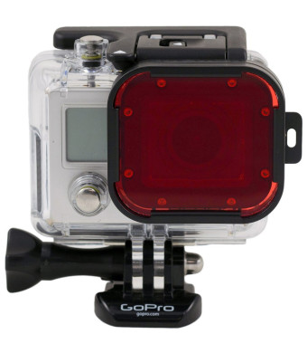 Polar Pro Filters PolarPro Red Filter-For GoPro 60M Dive Housing